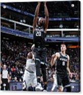 Denver Nuggets V Sacramento Kings Acrylic Print