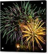 Firework Display Acrylic Print