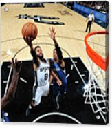 Minnesota Timberwolves V San Antonio Acrylic Print