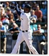 New York Yankees V Seattle Mariners Acrylic Print
