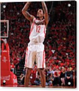 Oklahoma City Thunder V Houston Rockets Acrylic Print