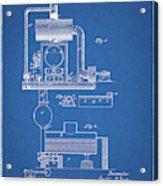 1885 Furnace Patent Acrylic Print