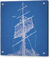 1885 Sails Patent Acrylic Print