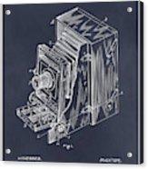 1887 Blair Photographic Camera Blackboard Patent Print Acrylic Print