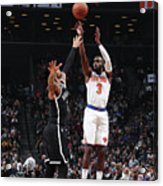 New York Knicks V Brooklyn Nets Acrylic Print