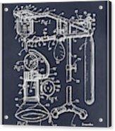 1919 Anesthetic Machine Blackboard Patent Print Acrylic Print
