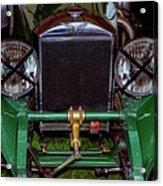 1930's Invicta Roadster In Colour Acrylic Print