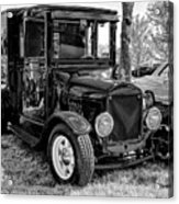 1925 Ford Model T Delivery Truck Hot Rod Acrylic Print