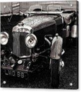 1930's Aston Martin Convertible Acrylic Print