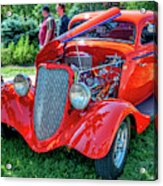 1934 Ford 3 Window Coupe Hot Rod Acrylic Print