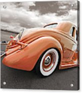 1935 Ford Coupe In Bronze Acrylic Print
