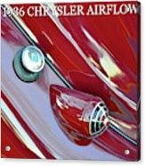 1936 Chrysler Airflow B Acrylic Print