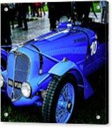 1936 Delahaye 135 Acrylic Print