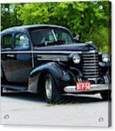 1937 Oldsmobile F 37 Acrylic Print