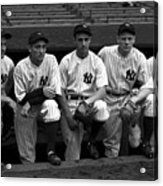 1937 World Series - New York Giants V 1937 Acrylic Print