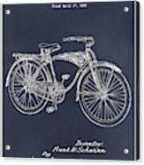 1939 Schwinn Bicycle Blackboard Patent Print Acrylic Print