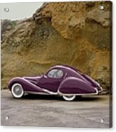 1939 Talbot-lago Model T 150 Ss With Acrylic Print