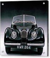 1950 Jaguar Xk 120 Acrylic Print