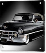 1951 Cadillac Series 62 Convertible Acrylic Print