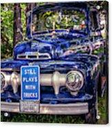 1951 Mercury Pickup Truck Acrylic Print
