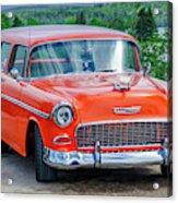 1955 Chevrolet Bel Air Nomad Acrylic Print