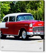 1955 Chevrolet Bel Air Acrylic Print