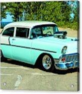 1956 Chevrolet Custom Model 2010  Acrylic Print