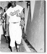 1956 World Series - Brooklyn Dodgers V 1956 Acrylic Print