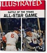 1957 All Star Game Preview Sports Illustrated Cover Acrylic Print