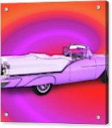 1957 Oldsmobile 98 Starfire Acrylic Print