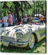 1961 Chevrolet Corvette 002 Acrylic Print