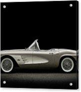 1961 Corvette Acrylic Print