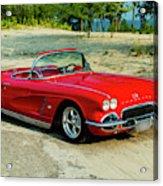 1962 Corvette Roadster Custom Acrylic Print