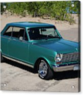1963 Chevrolet Nova Ss Acrylic Print