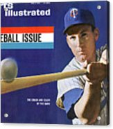 1963 Mlb Baseball Preview Issue Sports Illustrated Cover Acrylic Print