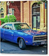 1970 Dodge Charger R/t Acrylic Print