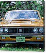 1970 Ford Torino Gt Acrylic Print