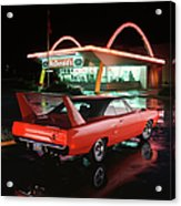 1970 Plymouth Superbird Acrylic Print