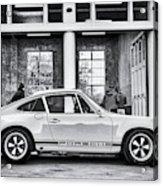 1972 Porsche 911 Monochrome Acrylic Print