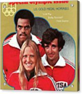 1976 Montreal Olympic Games Preview Sports Illustrated Cover Acrylic Print