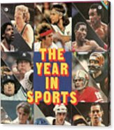 1981 Year In Sports Issue Sports Illustrated Cover Acrylic Print