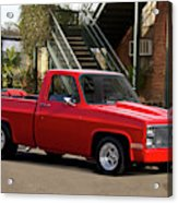 1983 Chevrolet C10 Lrhh Pickup I Acrylic Print