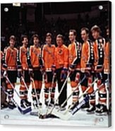 1986 38th Nhl All-star Game Campbell Acrylic Print