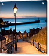 199 Steps Of  Whitby In The  North Acrylic Print