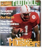 1995 College Football Preview Issue Sports Illustrated Cover Acrylic Print