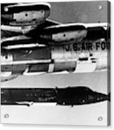 1x15 Rocket Plane Launched From The B52 Carrying It, 1962 Acrylic Print