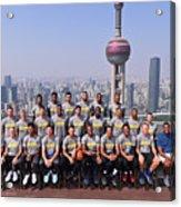 2017 Nba Global Games - China Acrylic Print
