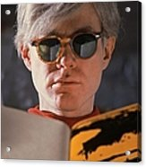 Andy Warhol In New York, United States Acrylic Print