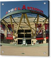 Angel Stadium Of Anaheim Acrylic Print