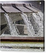 Arthur J. Will Memorial Fountain At Grand Park Acrylic Print